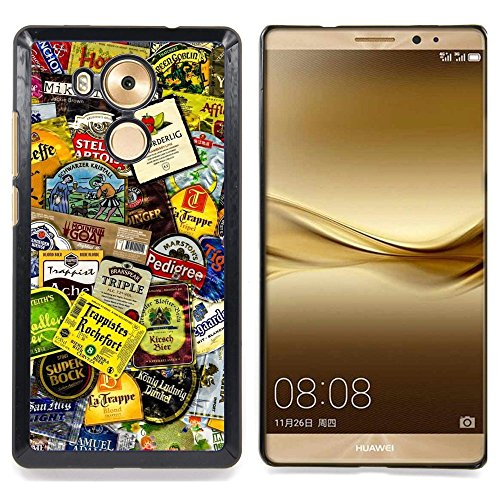 GIFT CHOICE / Slim Hard Protective Case SmartPhone Shell Cell Phone Cover for HUAWEI Ascend MATE 8 // Product Design Tags Colorful Modern Art //