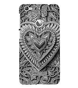Decorative Heart Design Cute Fashion 3D Hard Polycarbonate Designer Back Case Cover for LeEco Le 1s :: LeEco Le 1s Eco :: LeTV 1S