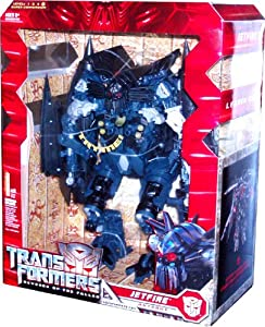 Transformers Movie Series 2 Revenge of the Fallen Leader Class 10 Inch Tall Robot Action Figure - JETFIRE with Light Up Eyes and Chest Plus Electronic Speech and Sounds (Vehicle Mode: SR-71 Blackbird)