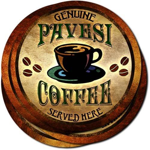 pavesi-coffee-neoprene-rubber-drink-coasters-set-of-4