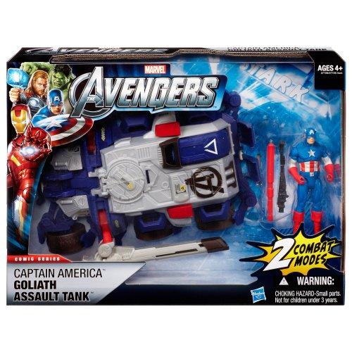 Imagen de Vengadores Stark Tek Batalla del vehículo - TANQUE DE ASALTO A GOLIAT