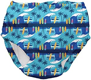 i play Ultimate Snap Swim Diaper (Toddler) - Aqua Surf-3T