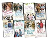Annie Groves Annie Groves Campion 8 Books Collection Pack Set RRP: £61.88 When the Lights Go On Again, Where the Heart Is, Home for Christmas, Daughters of Liverpool, Across the Mersey, The Grafton Girls, Connie''s Courage, London Belles