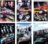 ワイルド スピード 1、X2、X3 TOKYO DRIFT、MAX、MEGA MAX、EURO MISSION [レンタル落ち] 全6巻セット [マーケットプレイスDVDセット商品]