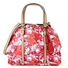 Coach Peyton Floral Domed Satchel in Multicolor Pink - Style 31341