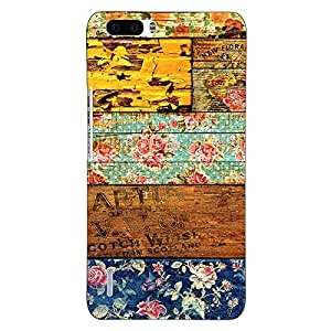Jugaaduu Floral Pattern Back Cover Case For Honor 6 Plus