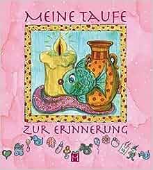 Meine Taufe zur Erinnerung rosa: 9783940801845: Amazon.com: Books