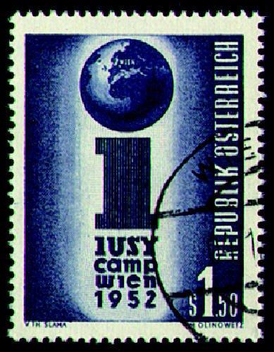 Briefmarken Österreich Nr. 974 gestempelt IUSY 1952