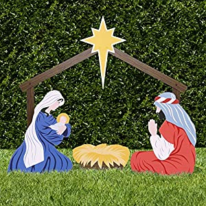 Outdoor Nativity Store Classic Outdoor Nativity Set