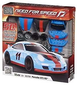 Megabloks Need for Speed Build & Customize Porsche 911 GT3 RS