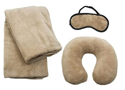 Travel Comfort Travel Pillow Comfort Set For Travelers Eye