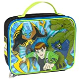 Ben 10 Rectangular Lunch Kit - Black