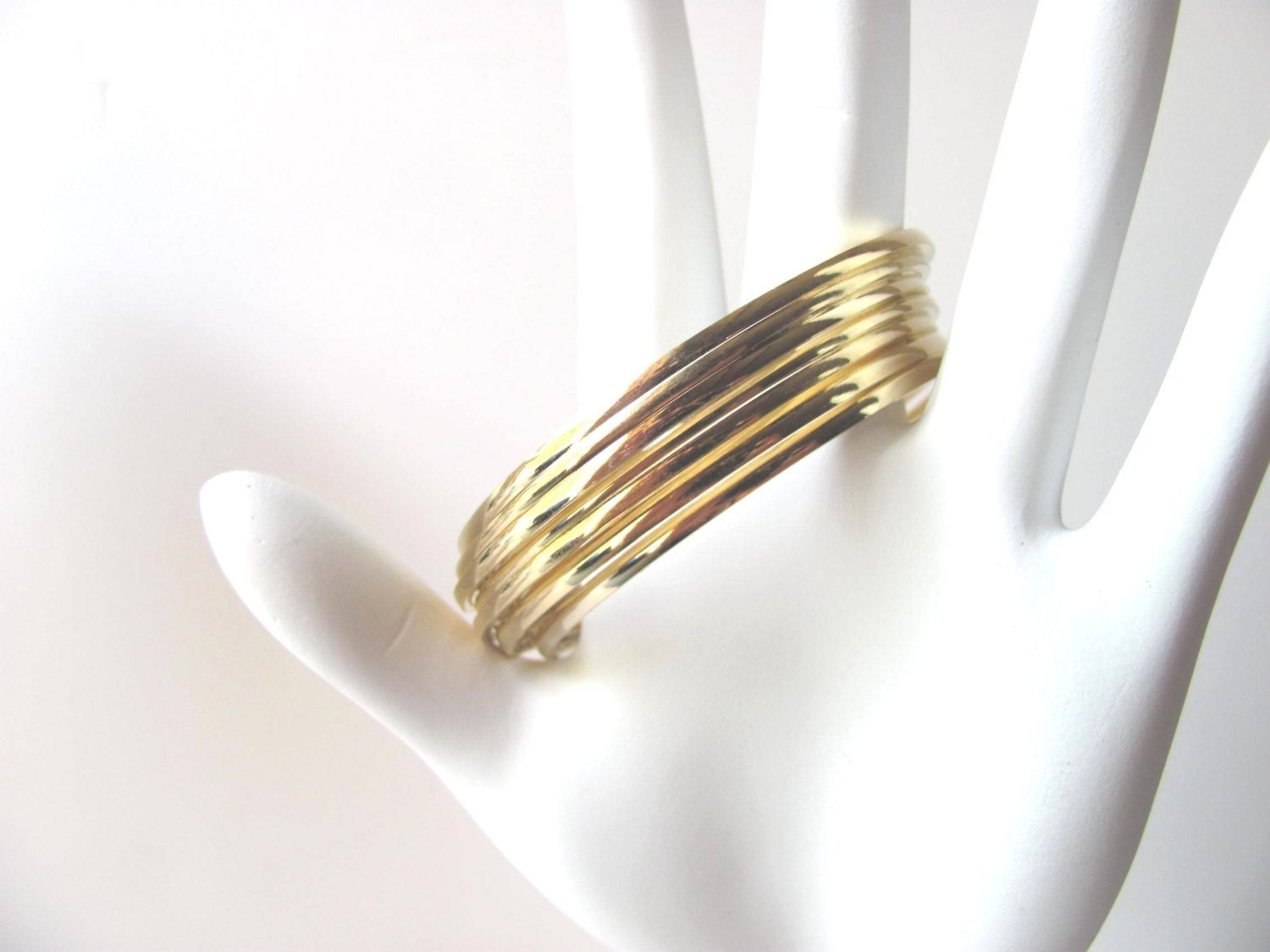 Bangle Bracelets Gold Overlay 14k Gold Overlay Bangle
