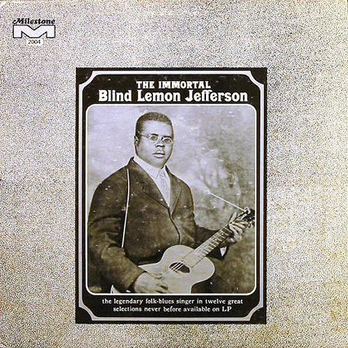 The Immortal Blind Lemon Jefferson