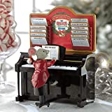 Mr. Christmas Magical Maestro Mouse with Piano Musical Table Top Decoration #14687