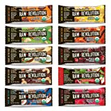Raw Revolution 10 Flavors Variety Pack, 1.8 Pound (Pack of 10)