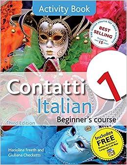 contatti 1 italian beginner 39 s course 3rd