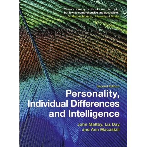 Personality Individual Differences and Intelligence 2nd Edition