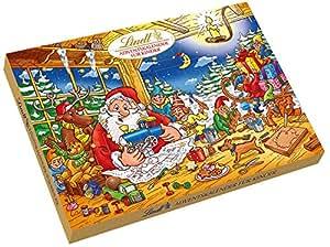 Lindt & Sprüngli Adventskalender für Kinder - mit leckeren schokoladigen Überraschungen, 1er Pack (1 x 280 g)