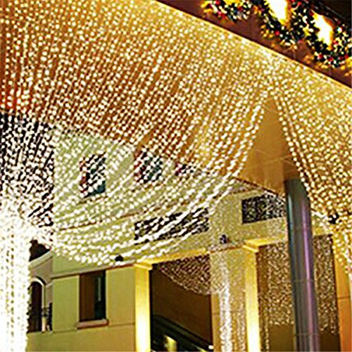 Tenda luci led natale strange things - Luci di natale per esterno led ...