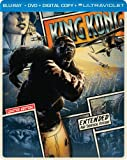 King Kong (Steelbook) (Blu-ray + DVD + DIGITAL with UltraViolet)