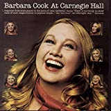 Barbara Cook at Carnegie Hall
