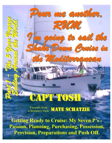 Part 1 - Pour me another rum - I'm going to sail the Shake Down Cruise in the Mediterranean Sea. (