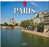Paris 2016: Original Stürtz-Kalender - Mittelformat-Kalender 33 x 31 cm [Spiralbindung]