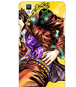 OPPO F1 ACTION MAN Back Cover by PRINTSWAG