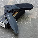 TAC FORCE BLACK TACTICAL Pocket Knife Folding Blade NEW!