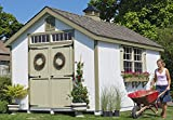 Little Cottage Company Colonial Williamsburg DIY Playhouse Kit, 12' x 20'