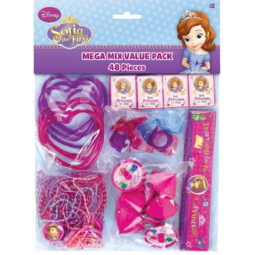 Sofia the First Favor Pack 48 Pc.