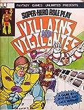 img - for Villains & Vigilantes (1st Edition) book / textbook / text book
