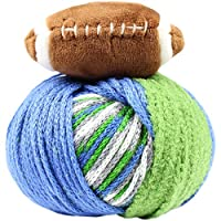 DMC TTYFBGBL Team Colors Green/Blue Top This! Yarn