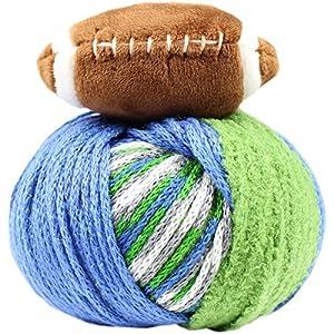 DMC TTYFBGBL Team Colors Green/Blue Top This! Yarn
