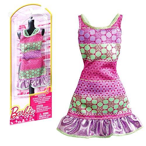 Barbie - Tendenza Moda per Vestiti per le Bambole Barbie - Abito Verde Rosa
