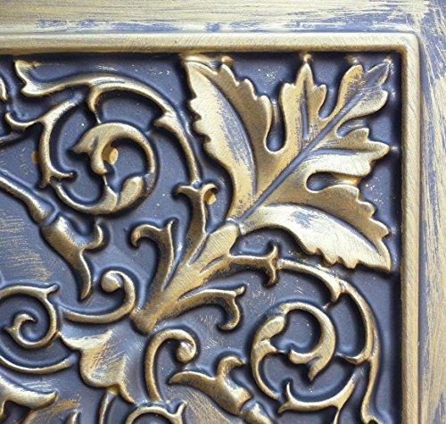 PL18 imitation peinture 3D antique relief dalles de plafond Doré Café pub shop art Décoration murale 10pieces/Panneaux lot