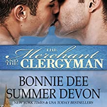 The Merchant and the Clergyman Audiobook by Bonnie Dee, Summer Devon Narrated by Noah Michael Levine