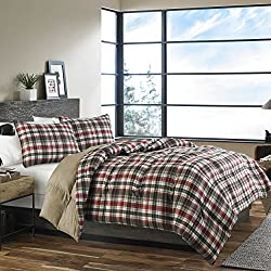 Eddie Bauer 215787 Astoria Down Alt Comforter Set, Full/Queen