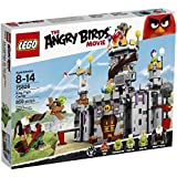 LEGO Angry Birds 75826 King Pig S Castle Building Kit 859 Piece