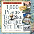 1,000 Places to See Before You Die� Calendar  P.A.D 2013 (Page a Day Calendar)