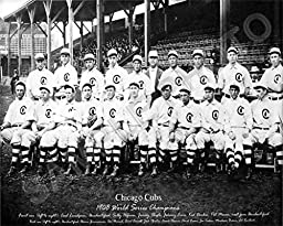 1908 Chicago Cubs World Series Champions 11x14 Photo