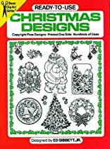 Ready-to-Use Christmas Designs (Dover Clip Art Ready-to-Use)