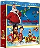 Les pirates, bons à rien mauvais en tout + Mission : Noël - Les aventures de la famille Noël [Blu-ray]