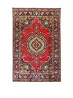 L'EDEN DEL TAPPETO Alfombra M.Tabriz Rojo/Multicolor 205 x 149 cm