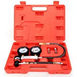 Leakage Detector Engine Compression Tester New Heavy Tu-21 Cylinder Leak Gauges Set [US STOCK]