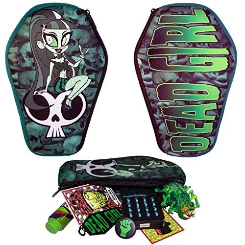Kreepsville 666 Dead Girl Coffin Pouch Bag