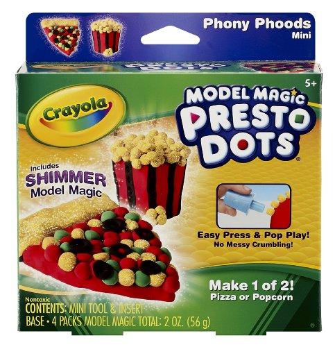 Crayola Model Magic Presto Dots Pizza/Popcorn - 1