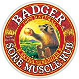 8 Pack Badger Extra Strength Sore Muscle Rub 2-oz Tin