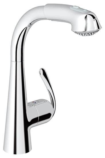 Ladylux³ Café Plus Single-Handle Pull-Out Kitchen Faucet